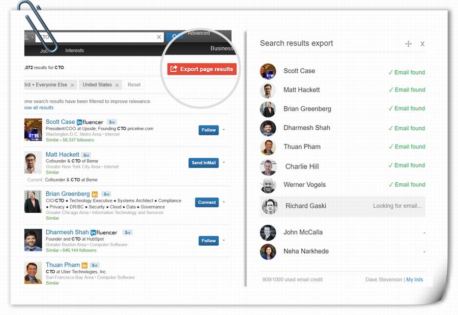 4个从LinkedIn刮取邮箱和Leads的免费工具!(1)-电话邮箱刮取